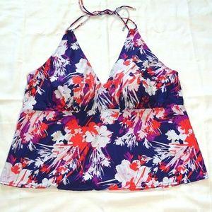 Other - Halter Tankini Swim Top Padded Women Size 34W